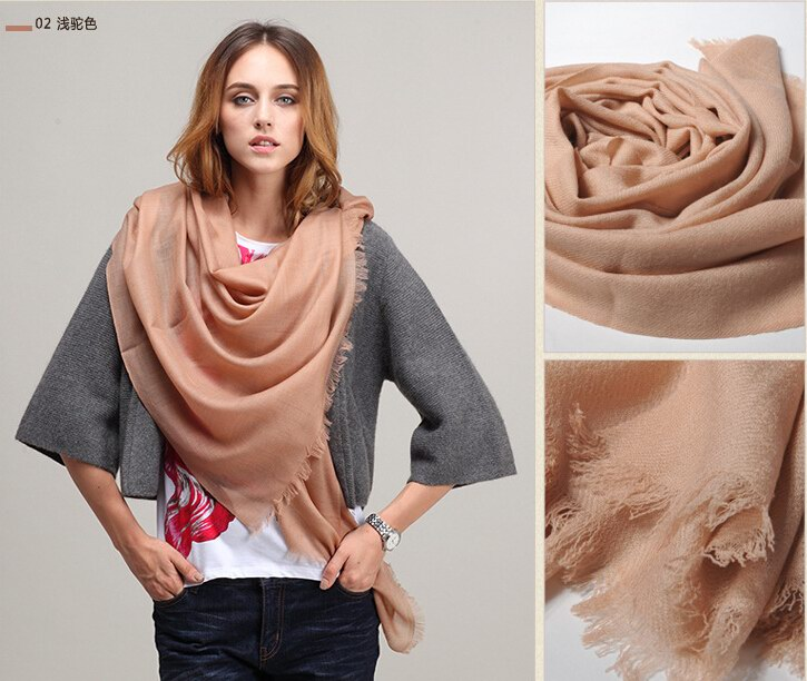 SEO_COMMON_KEYWORDS 004 Tan Scarf with 100% Wool material