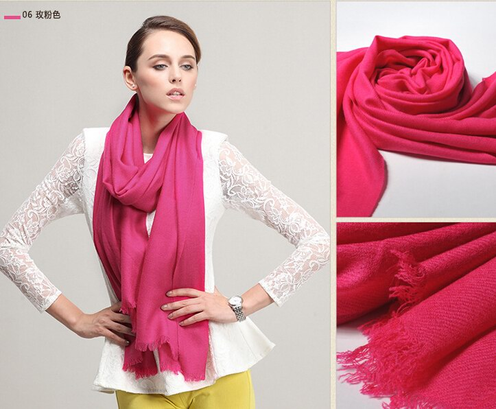 SEO_COMMON_KEYWORDS 007 Hot Pink Wool Scarf USA