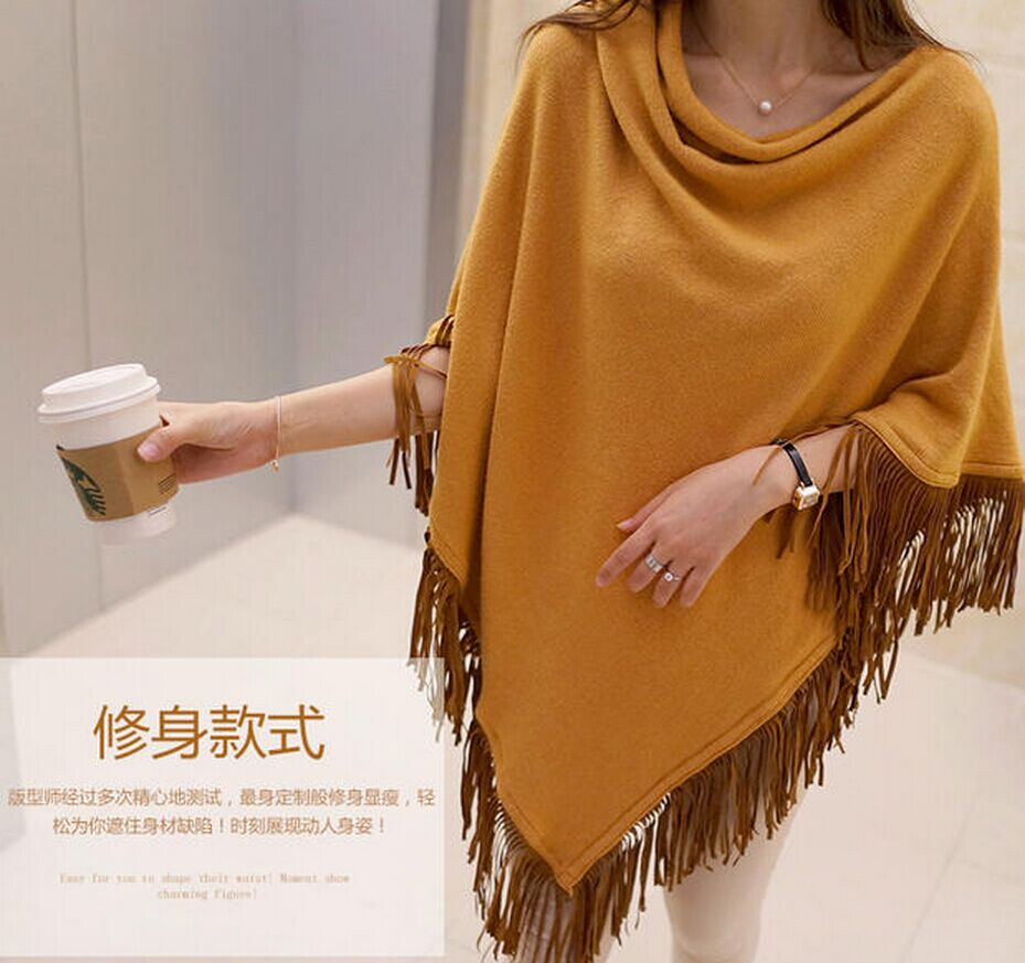 Newest Women Ponchos