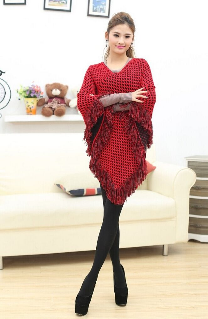 Fashion Women Ponchos