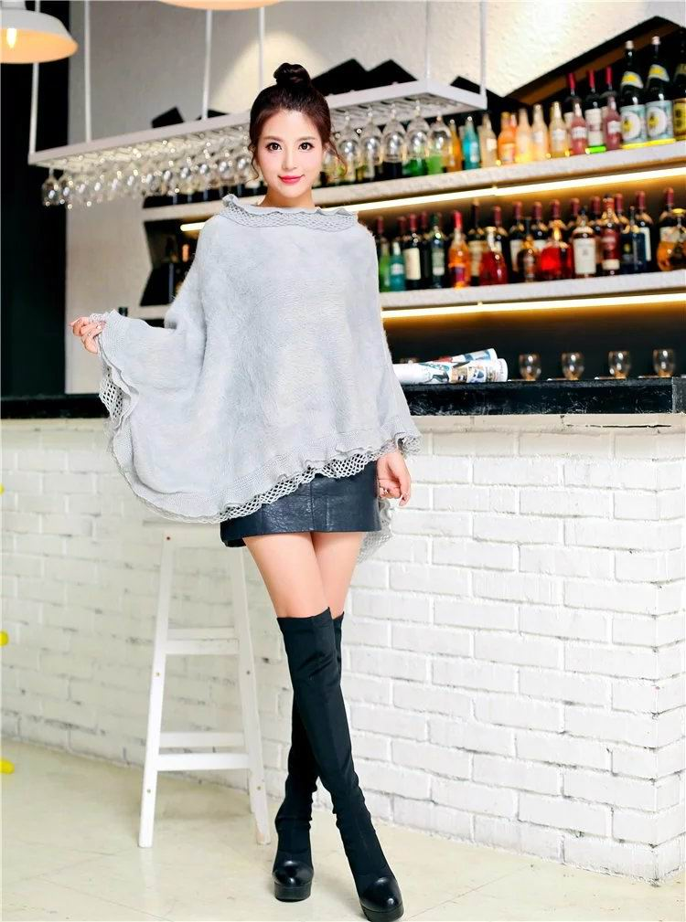17 Women Ponchos 050 - Click Image to Close