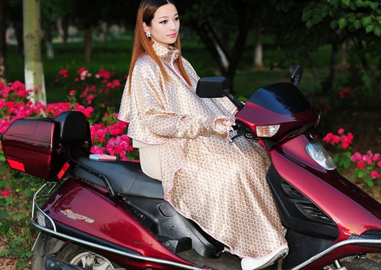 Large size Silk ponchos for driving