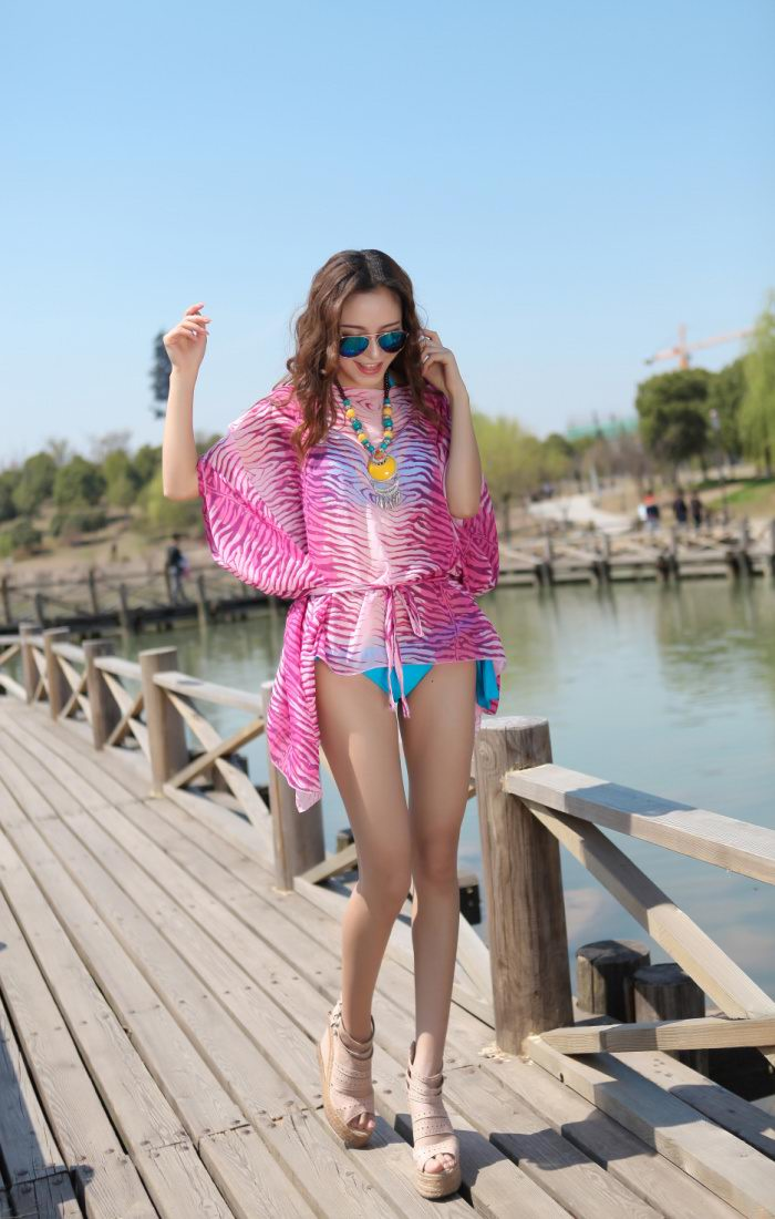 Animal Print Beach Ponchos for summer