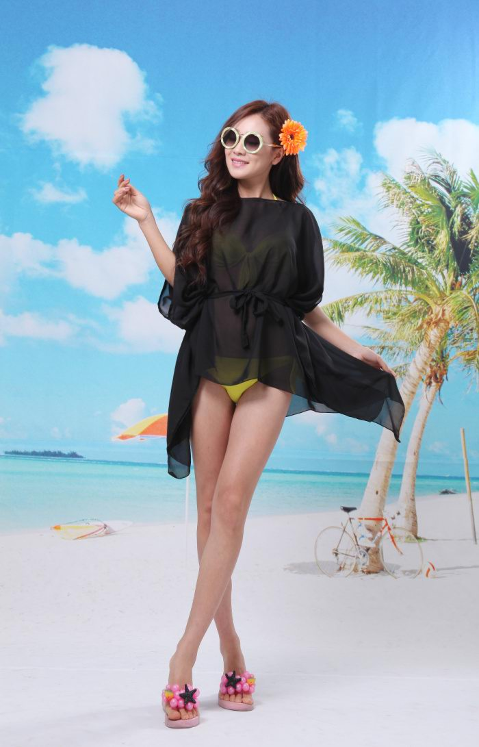 Cheap Beach Ponchos Wholesale Solid colors - Click Image to Close